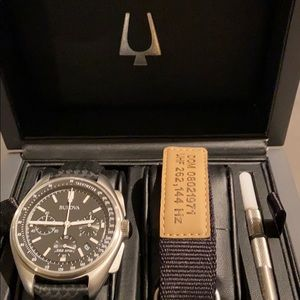 Bulova Moon Chronograph Watch Special Edition